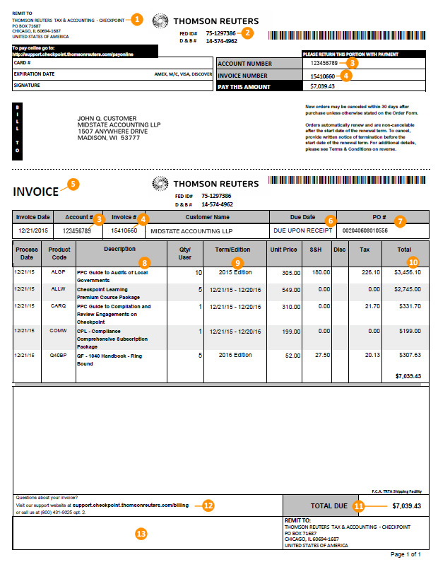 Tax & Accounting Billing Support